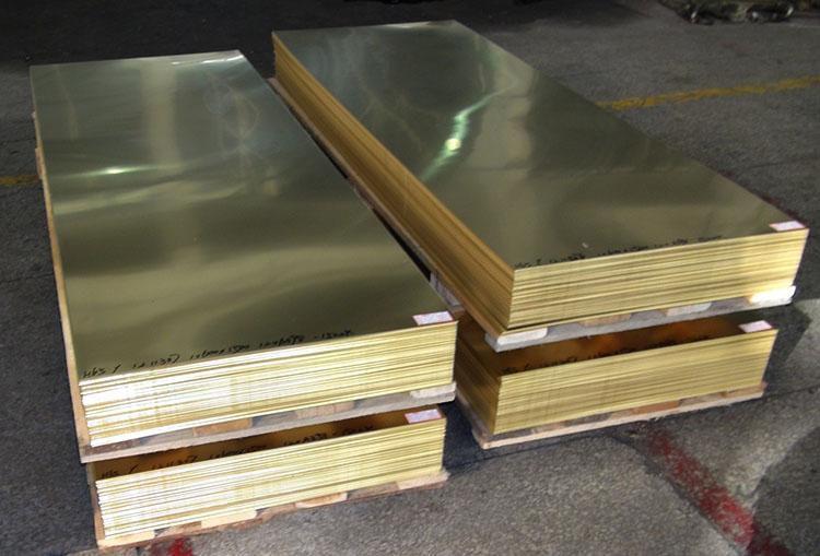 银川黄铜板